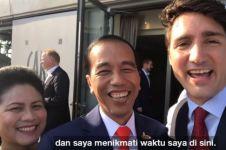 4 Vlog Jokowi dengan pemimpin dunia, terbaru bersama PM ganteng