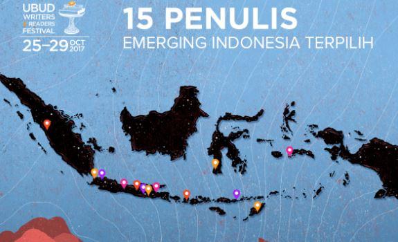 15 Penulis Indonesia terpilih tampil di UWRF 2017, selamat ya!