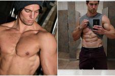 6 Pria ini buktikan vegan juga bisa punya badan kekar berotot, aw!