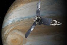 NASA berhasil rekam badai raksasa di Jupiter
