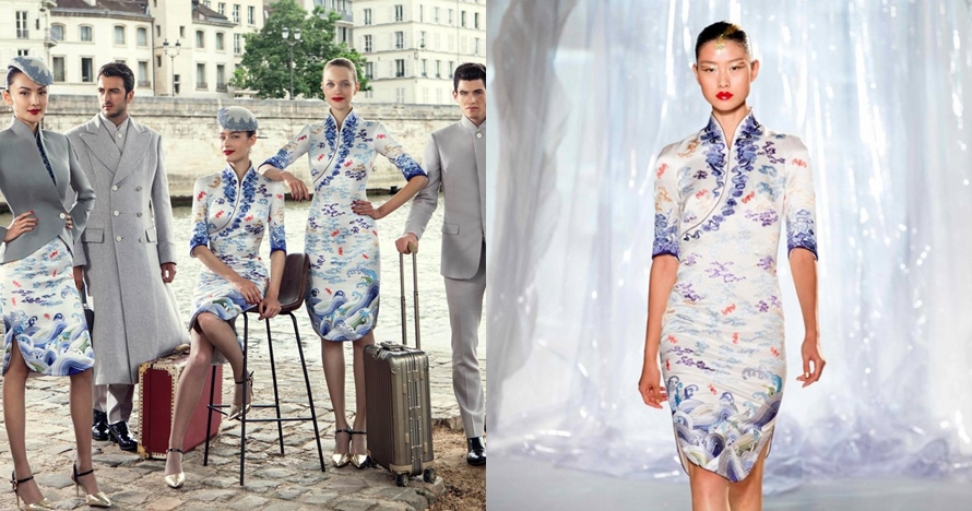 Maskapai China ini punya seragam awak kabin paling modis sedunia