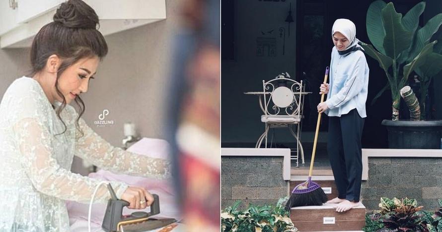 Jadi artis terkenal, 5 seleb tak malu lakukan pekerjaan rumah