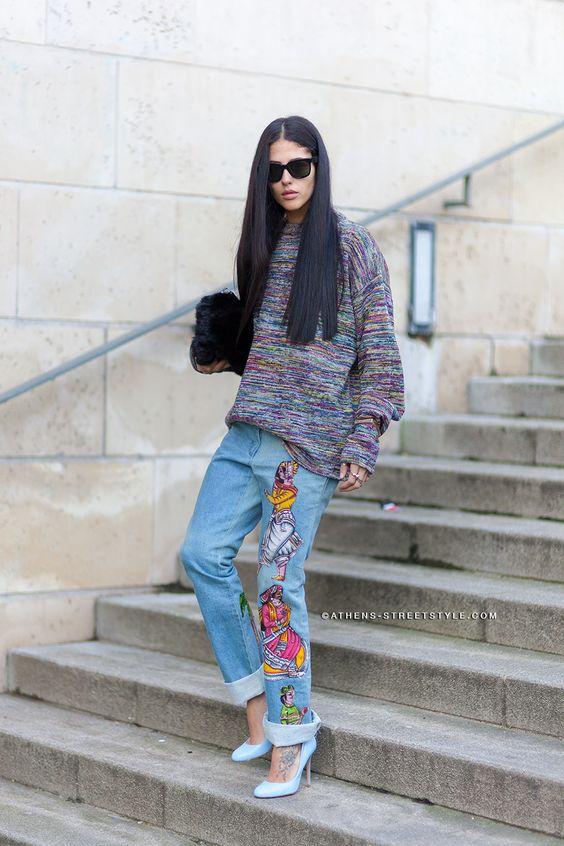 celana jeans embroidered  © 2017 berbagai sumber