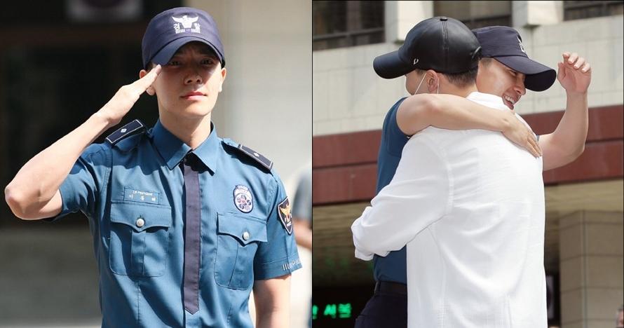 10 Potret Donghae Super Junior saat keluar wamil, dijemput Eunhyuk lho