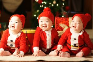 12 Foto terbaru Song Triplets yang sekarang makin gede, bikin gemes