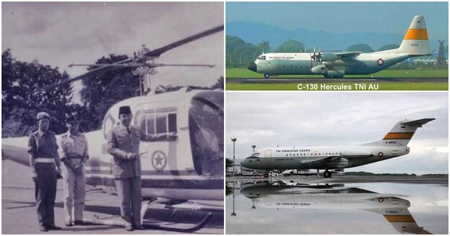 Potret 7 pesawat presiden RI dari masa ke masa, sejarahnya panjang