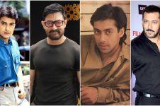 Perubahan 12 aktor tenar Bollywood, makin tua makin jadi