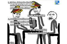 Komik kisah polisi frustasi interogasi pembunuh ini lucu banget