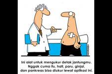 10 Kartun humor sarkas soal dunia medis ini bikin makin takut sakit