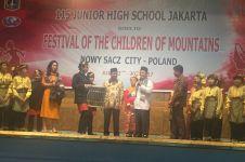 Tampil di Polandia, SMP Negeri 115 Jakarta kembali jadi duta budaya