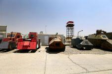Penampakan mobil-mobil tentara ISIS ini bak di film Mad Max: Fury Road