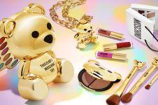 Dikenal brand pakaian top, Moschino rilis 5 produk makeup pertamanya