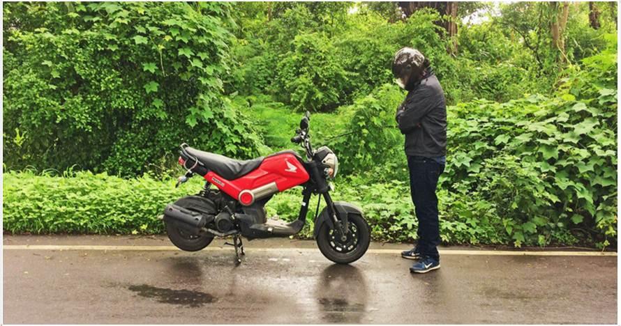 Pria ini jelajahi 4 negara naik  motor, kisah di baliknya bikin kagum