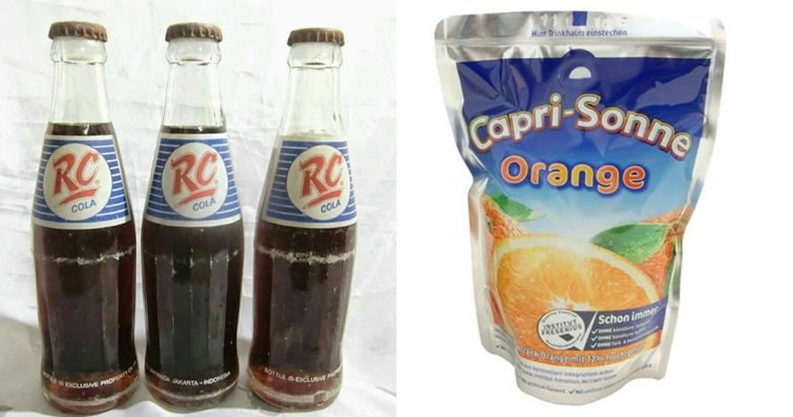 Masih ingat 8 minuman anak 90-an ini? Masa lalumu penuh kesegaran