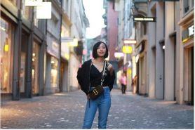 10 Street style Rinni Idol saat liburan ke Eropa ini kece abis