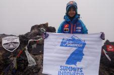 Bocah 10 tahun ini penakluk 7 gunung tertinggi di Indonesia, keren!