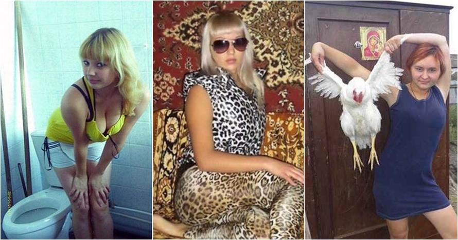 20 Foto profil orang Rusia di situs kencan online, bikin tepuk jidat!