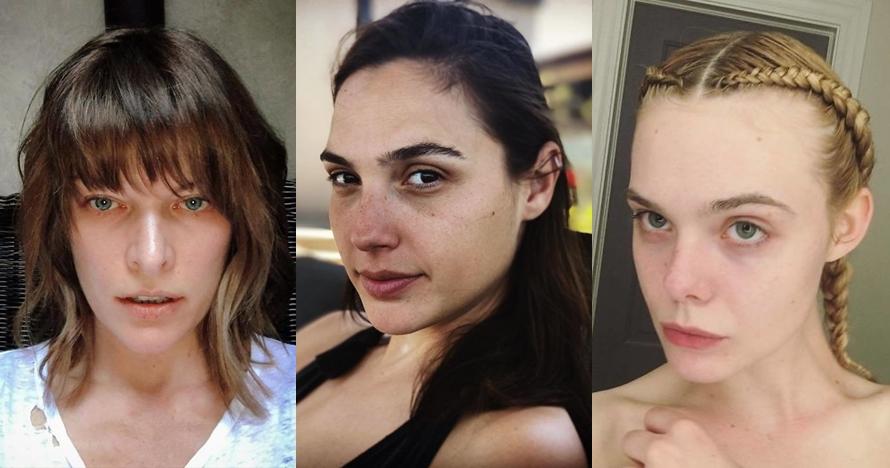 Potret 20 seleb dunia tanpa makeup ini bukti cantiknya memang alami
