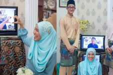 Bikin heboh, pasangan kekasih ini lakukan tunangan secara online