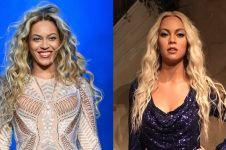 Mirip seleb lain & kulit lebih putih, patung lilin Beyonce ini dihujat