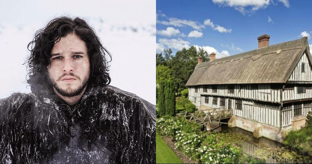 Intip rumah 'Jon Snow' Game of Thrones yuk, asri bak di pedesaan