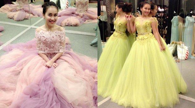 10 Foto bukti Ayu Ting Ting hobi tampil bak putri kerajaan
