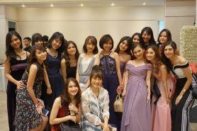 Pernikahan Stella eks JKT48 jadi ajang reuni, ini 8 potret keseruannya
