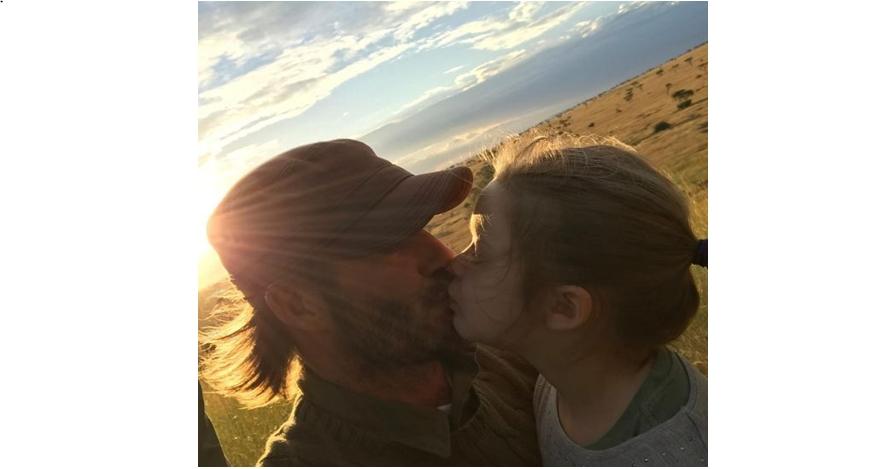 10 Potret kedekatan David Beckham dengan putri kecilnya, bikin meleleh