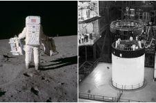 13 Foto langka misi pendaratan di bulan yang jarang diungkap ke publik