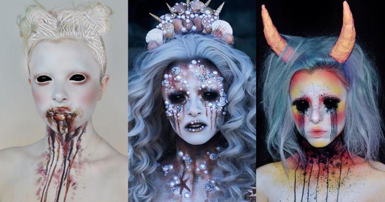 15 Hasil makeup karya cewek ini bikin kamu melongo sekaligus bergidik