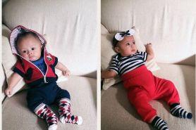 Begini lucunya bayi kembar Surya Saputra yang bikin gemas netizen