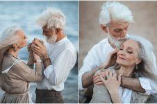 12 Potret pasangan kakek-nenek ini bukti cinta tak pudar oleh waktu