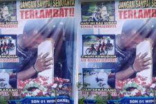 Poster imbauan ini 'tampar' orangtua yang izinkan anak SD naik motor