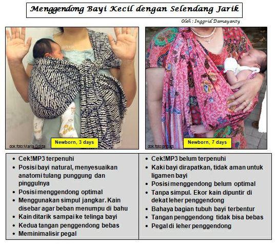 gendong bayi mama's journey