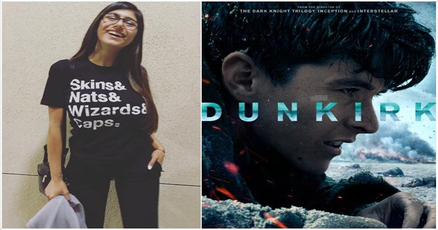 Ini komentar Mia Khalifa tentang film Dunkirk, bikin netizen geger