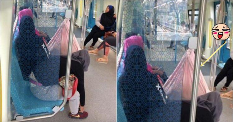 Aksi ibu bikin ayunan untuk bayinya ini dikritik netizen, kenapa ya?