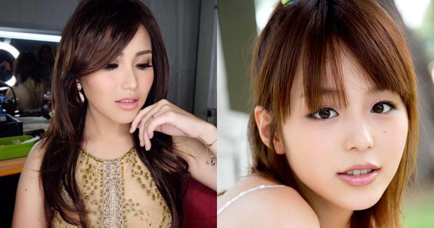 5 Foto bukti Ayu Ting Ting sekilas mirip seleb Jepang Aya Hirano