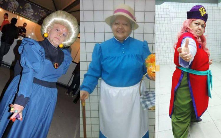 Usia 50 tahun, wanita ini aktif cosplay dan penampilannya bikin kaget