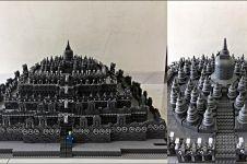 Penampakan Candi Borobudur dibangun pakai Lego, hasilnya menakjubkan!