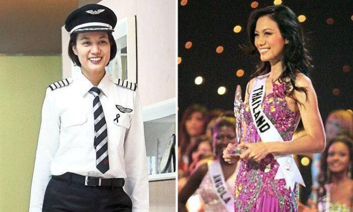 Kecantikannya bikin heboh, pilot ini ternyata kontestan Miss Universe