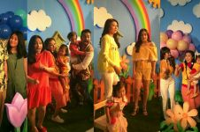 15 Foto bukti video klip lagu baru Sarwendah ini bertabur bintang