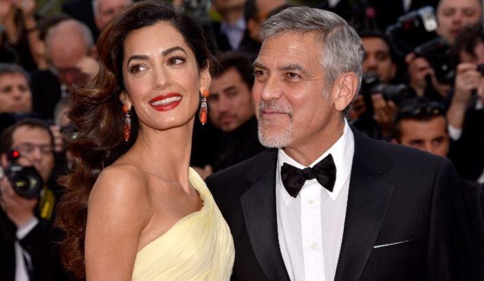 George Clooney gugat majalah Prancis yang pajang foto anak kembarnya