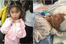 Keinginan gadis kecil yang idap tumor otak ini bikin terenyuh