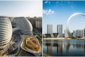 10 Bangunan futuristik di negara ini punya bentuk unik bak film Sci-fi