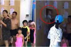 Ibu ini sengaja kurung bayinya di dalam loker, alasannya bikin geram