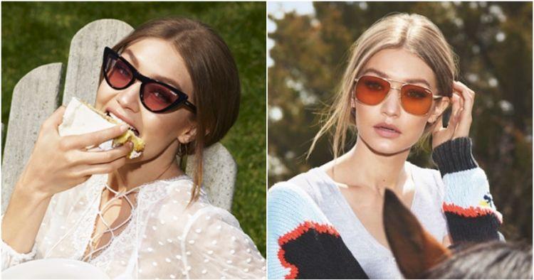 Setelah Kylie Jenner, Gigi Hadid juga desain & rilis koleksi kacamata