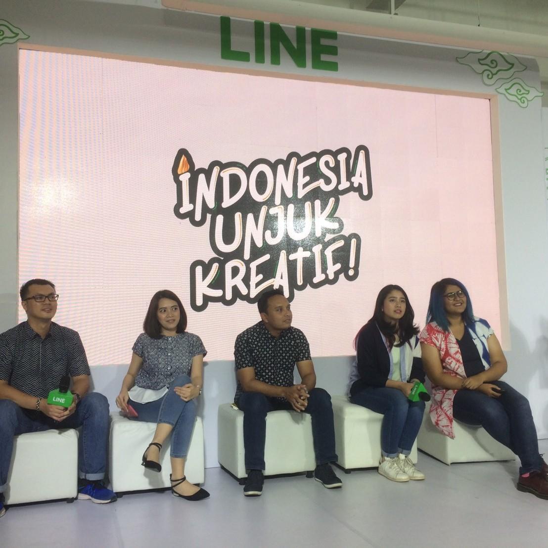 Tunjukan kreativitasmu di LINE Creativate 2017