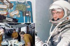 Terungkap, ini orang yang pertama kali makan di luar angkasa