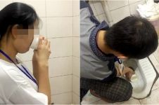 Gagal penuhi target, karyawan perusahaan ini disuruh minum air toilet