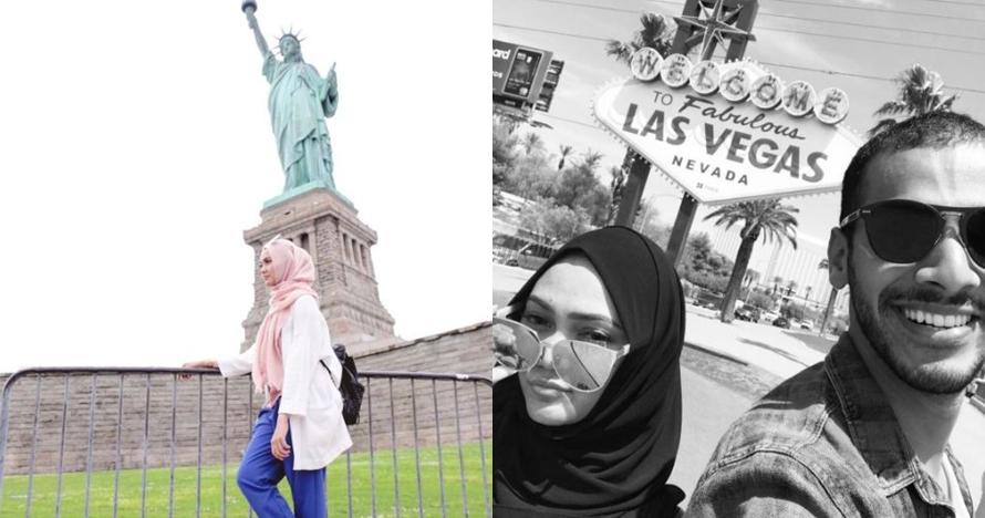 Tak muncul di 'Bintang Pantura', ini 12 potret liburan Rina Nose di AS